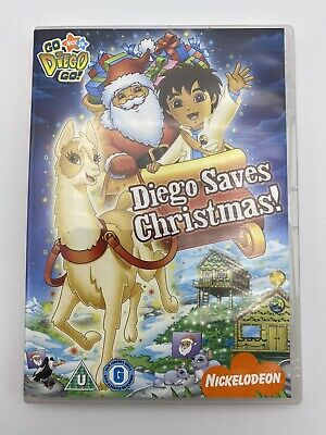 Go Diego Go!: Diego Saves Christmas DVD • 1.20£