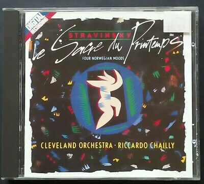 Stravinsky Rite Of Spring, 4 Norwegian Moods. Cleveland/ Chailly. Decca 417325-2 • 3.95£
