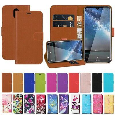 Case For Nokia 4.2 7.2 3.2 2.2 6.2 PU Leather Wallet Flip Card Pocket Case Cover • 3.35£
