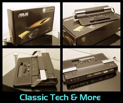 Docking Station For ASUS Lamborghini VX2-S Laptop NOS New Old Stock (VX2s) • 90£
