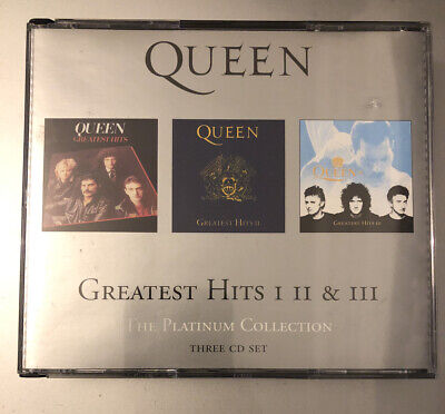 Queen - Platinum Collection Greatest Hits Volume 1 2 3  (2006) Very Good • 6.85£