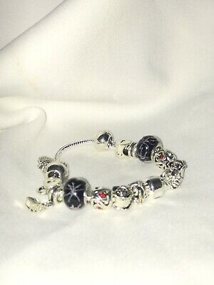 18 Cm Charm Braclet With Charms  • 9.99£