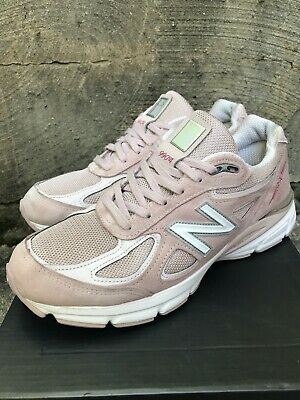 """$119.99 • Buy New Balance Men's 990 V4 """"Pink Ribbon"""" Breast Cancer Pink Faded Rose Size 8.5"""
