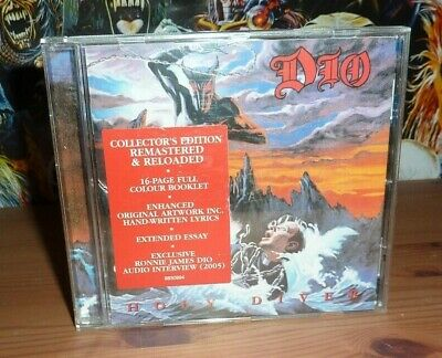 DIO Holy Diver CD Collectors Edition Remastered & Reloaded CD (2005) • 9.99£