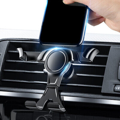 360° Universal Gravity Car Mobile Phone Holder Air Vent Phone Mount For Phone Q • 4.69£