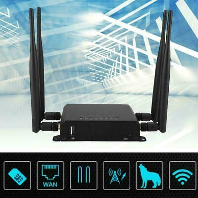 AU119.99 • Buy Industrial WIFI Router Dual SIM Card Slot GD 4G LTE Wireless Router VPN M2M