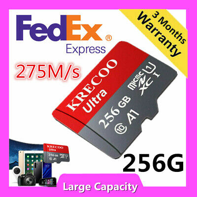 $9.99 • Buy General 256GB 128GB 64GB Micro Memory Card 4K Class10 Flash TF Card With Adapter