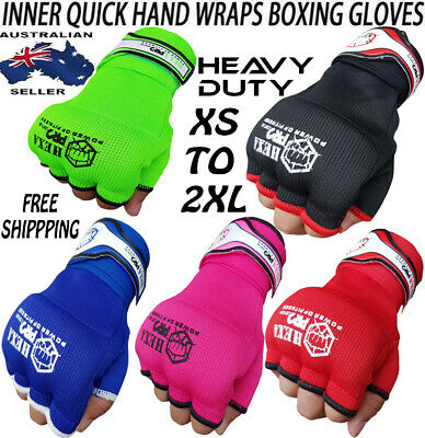 AU10.80 • Buy HP Inner Gloves MMA Boxing Hand Wrap Fist Gel Bandages Quick Straps Martial Art