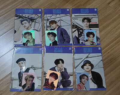 $ CDN16.99 • Buy NCT DREAM Reload SMTOWN OFFICIAL GOODS HOLOGRAM PHOTO CARD SET SEALED