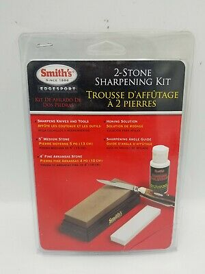 $17.99 • Buy Smith's SK2 2 Stone Pocket Knife Sharpening Kit