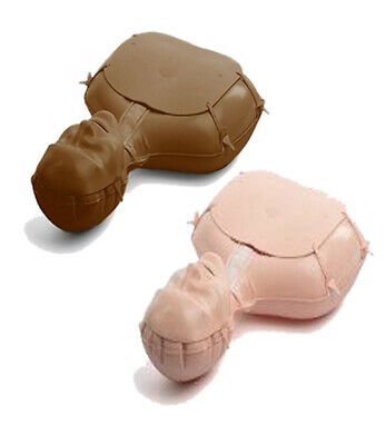 £4.30 • Buy Inflatable Blow Up Replacement CPR  Mini Anne Manikins Face Packs Laerdal