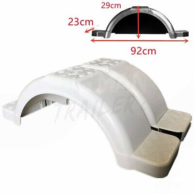 AU68 • Buy Boat Trailer 13  & 14  Wheels Guards Single Axle White Plastic MudGuards Fenders