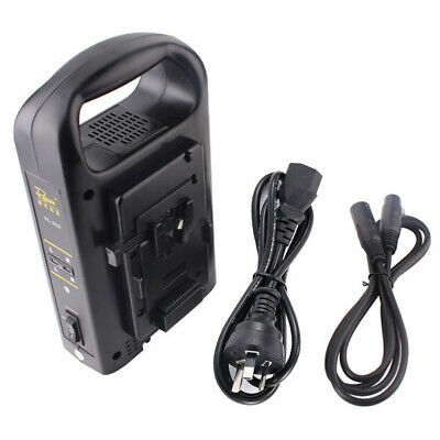 AU235 • Buy Rolux V-mount Battery Dual Charger