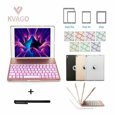 AU65.99 • Buy Folio Backlit Keyboard Case For Ipad 5/6/7/8th Gen 10.2  Air1/2/3 Pro 9.7/10.5