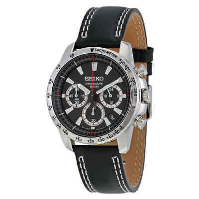 $ CDN165.70 • Buy Seiko Chronograph Black Dial Men's Watch SSB033