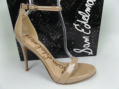 $ CDN40.08 • Buy Sam Edelman Ariella Ankle Strap Heels Shoes, Women's SZ 8.5 M, Nude Patent 16055