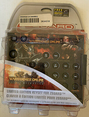 £10.80 • Buy SteelSeries Warhammer Online: AoR Limited Ed Gaming Keyset For Zboard - NEW