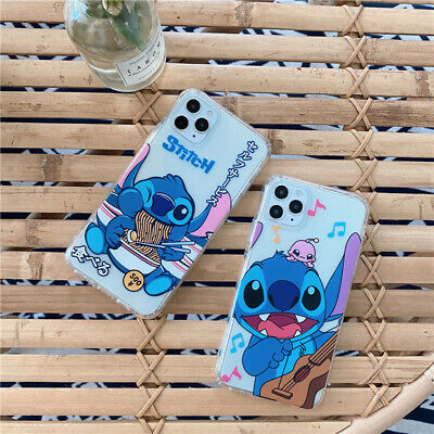 AU6.93 • Buy Cute Cartoon Disney Stitch Shockproof Case Cover For IPhone 11 Pro Max XS 6 7 8+