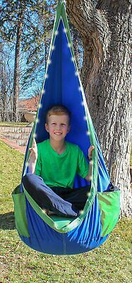 Hanging Swing Chair W/Led Lights By Playzone Fit Ultimate NIB  Free Shipping! • 53.93£