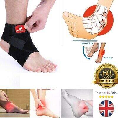 Adjustable Breathable Ankle Support Brace Strap Sports Running Weak Joint Injury • 4.99£