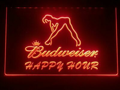 $ CDN33.86 • Buy  Budweiser Sexy Beer Pub Bar Man Cave Decor Led Neon Light Sign Gift Advertise