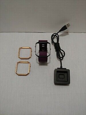 $ CDN21.72 • Buy GENUINE Fitbit Blaze Band And Replacement Charger USB Cable Extra Rose Frames