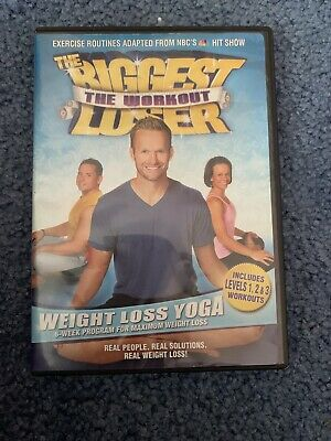 The Biggest Loser The Workout: Weight Loss Yoga (DVD, 2008) Bob Harper VIDEO • 4.52£