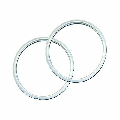 $12.36 • Buy Genuine Instant Pot Sealing Ring 2 Pack Clear 8 Quart 8