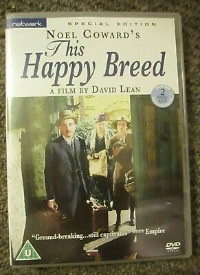 This Happy Breed DVD Special Edition 2 Disc Set - A Film By David Lean • 6.99£