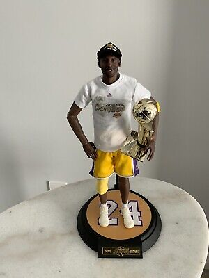 $39.99 • Buy Custom Enterbay 1/6 Lakers Kobe Bryant 2010 Championship  Hat And T-shirt ONLY