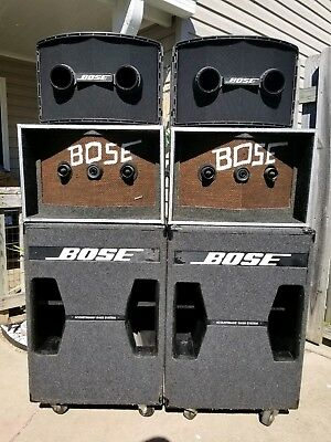 $1600 • Buy Bose 802 Mk II And Bose 302 Acoustimass Bass Module Speaker System With Bose 901