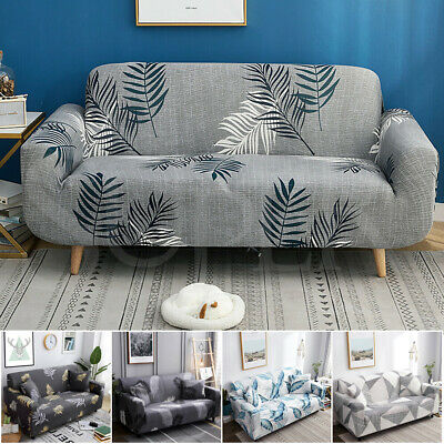 AU26.99 • Buy High Stretch Sofa Cover Couch Lounge Protector Slipcovers 1 2 3 4 Seater Covers
