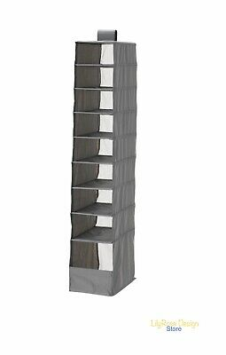 Ikea Skubb HANGING 9 Compartment Shoe Organiser Storage Boxes Wardrobe Divider ✅ • 6.89£
