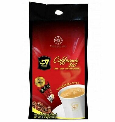 AU23.99 • Buy Trung Nguyen G7 3 In One Coffee Mix 120 X 16G