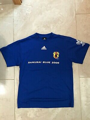 £5 • Buy Adidas Japan 2006 Word Cup T-Shirt In Blue.