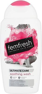 FemFresh Intimate Hygiene Ultimate Care Soothing Wash 250ml PH Balanced • 4.49£