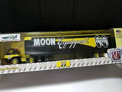 $ CDN99.99 • Buy M2 Machines Chase Gold Mooneyes Moon Equipped '69 Dodge Daytona & L600 Hauler