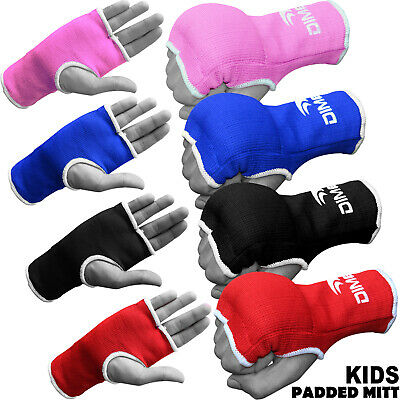 $ CDN4.72 • Buy Kids Boxing Padded Gloves Hand MMA Fight Fist Protector Training Mitts One Size