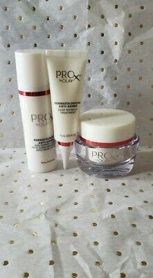 AU34.08 • Buy ProX By Olay Dermatological Anti-Aging Intensive Wrinkle Protocol 3 Pc Set NWB