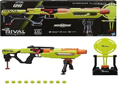 AU299 • Buy NERF Rival Blaster Jupiter XIX-1000 Edge Series With Target And 10 Rounds 14+
