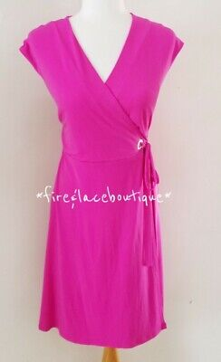 $ CDN63.29 • Buy Ivanka Trump Hot Pink Stretch Knit Dress Sz M 8 10