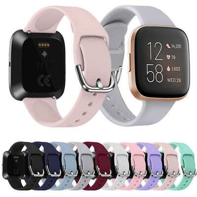 $ CDN4.30 • Buy Smart Replacement Watch Band Strap Silicone Bracelet For Fitbit Versa 2 1 Lite