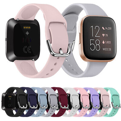 $ CDN4.29 • Buy Smart Replacement Watch Band Strap Silicone Bracelet For Fitbit Versa 2 1 Lite