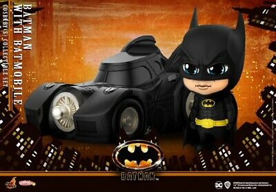 $ CDN137.63 • Buy Hot Toys HT COSB710 Batman With Batnobile PVC COSBABY Action Figure Collectible