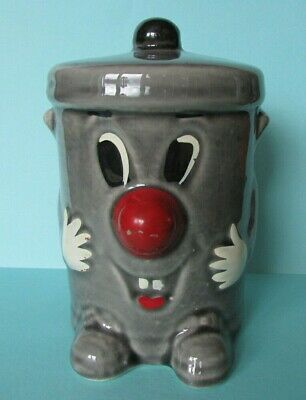 Fab Vintage Retro Dusty Bin Ceramic Hand Painted Money Box  3-2-1 Ted Rogers • 11£