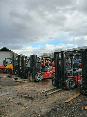 Used Forklifts 4 Sale - Gas / Diesel / Electric - Counterbalance / Ppt / Reach • 3,950£