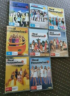 £148.88 • Buy The Real Housewives Of Orange County - Season 1-8, DVD - FREE AU POST!!