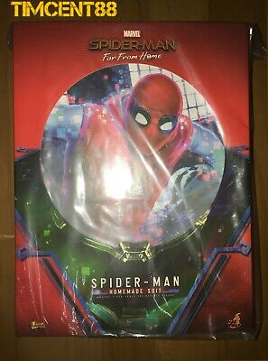 $ CDN342.68 • Buy Ready! Hot Toys MMS552 FAR FROM HOME SPIDER-MAN 1/6 (HOMEMADE SUIT Version) New