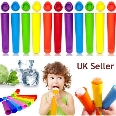 £4.70 • Buy 1~20X Silicone Ice Cream Pole Mold Lollies Maker Push Up Lolly Mould Summer Kids
