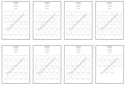 £19.99 • Buy QUEEN VICTORIA PENNY RED PLATE NUMBER ALBUM PAGES 8 X A4 PAGES CLEAR MOUNTS